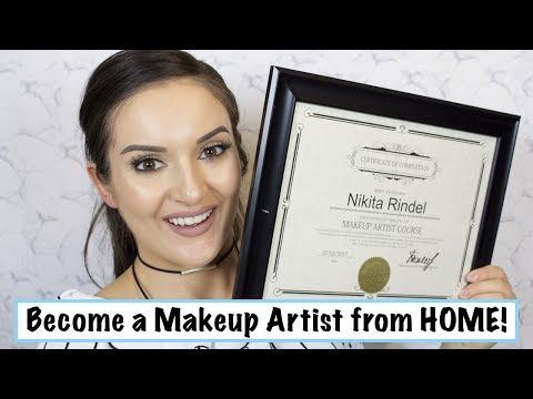 Become a Makeup Artist from HOME! - YouTube | Professional