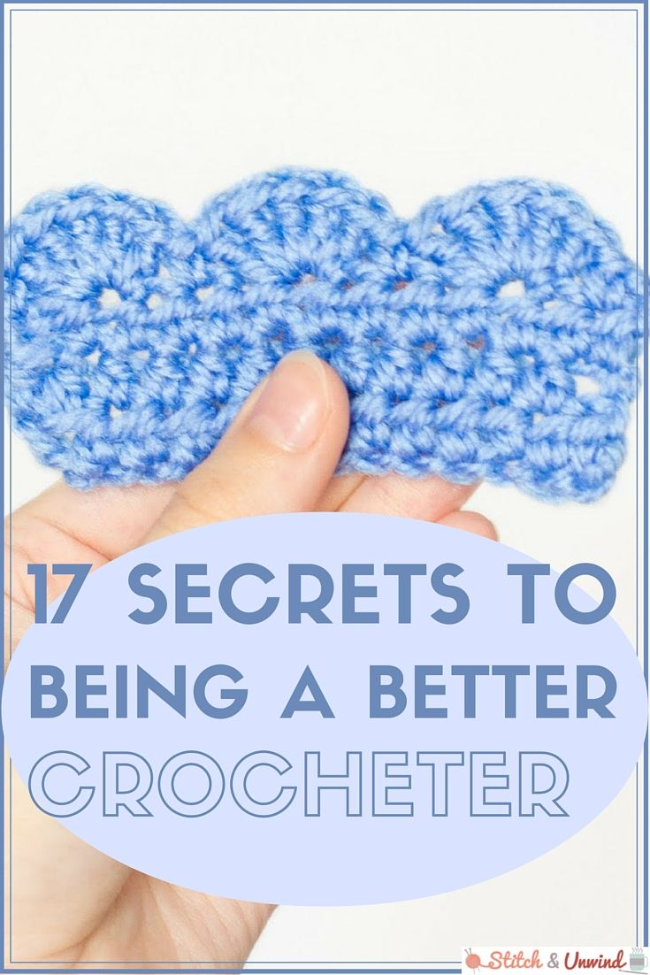 Crochet Tips ༺✿ƬⱤღ✿༻