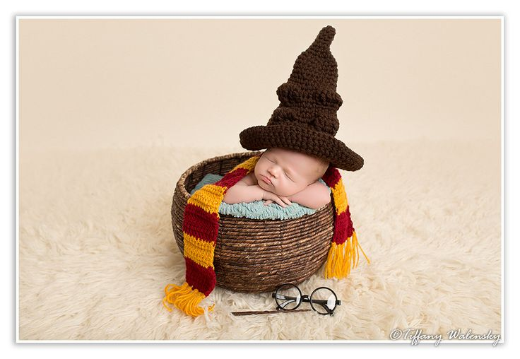 Crochet Harry Potter Sorting Hat. Harry Potter character hat. Baby/Infant-Adult sized hat. Handmade photo prop by MONKEYSHATZ on Etsy