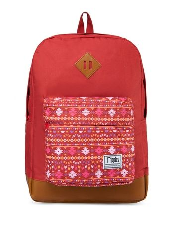 $$ Correct volume Tara Backpack from Ripples in red_1