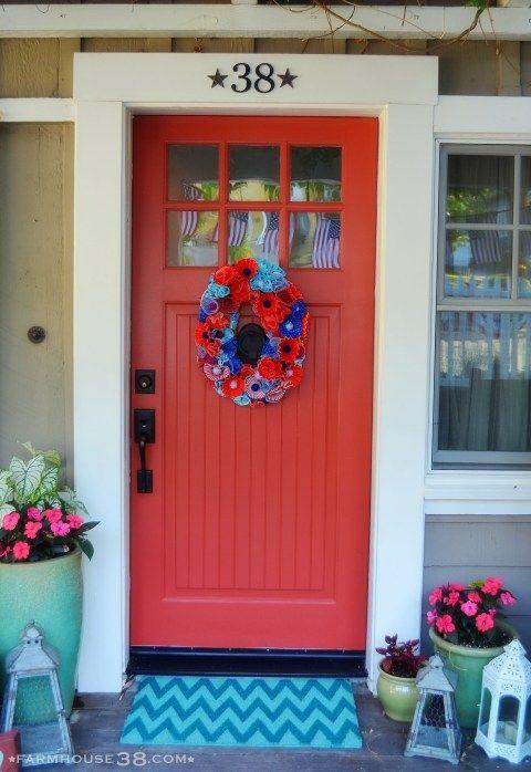 Fourth of July Decor at Farmhouse38