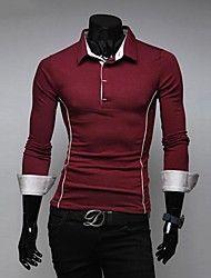 mannen het unieke ontwerp van slanke t-shirt met ... – EUR € 14.53