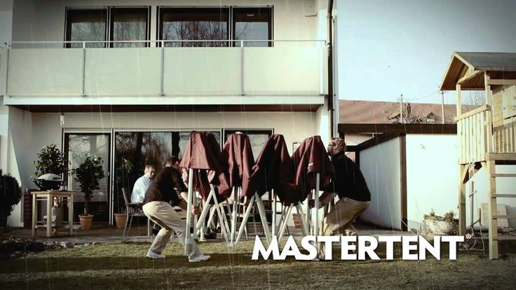 Every Mastertent folding tent is easily set up in just one minute without tools, professional staff and loose parts.  Have a look on it...