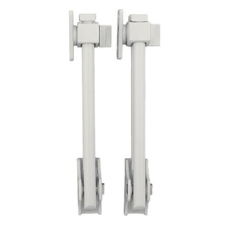 Miles Nelson Security Stay Timber White 2 Pack