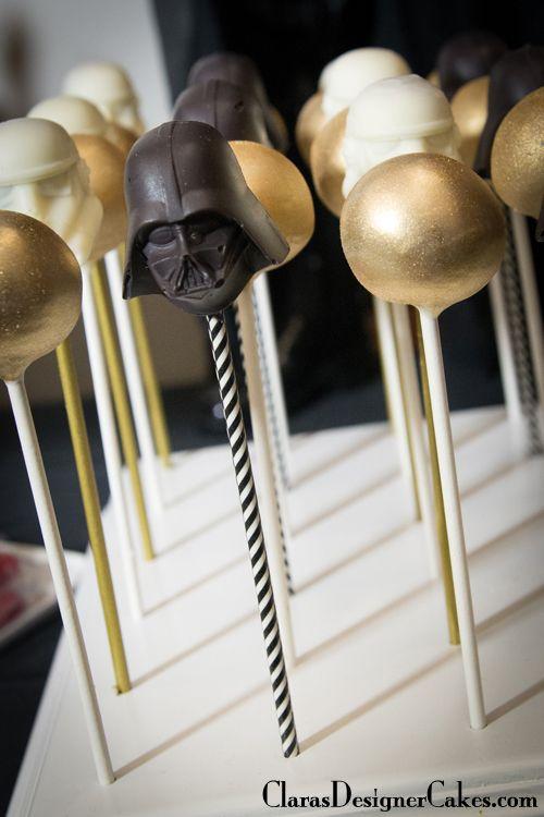 Star Wars Party Cake pops | Clara's Designer Cakes