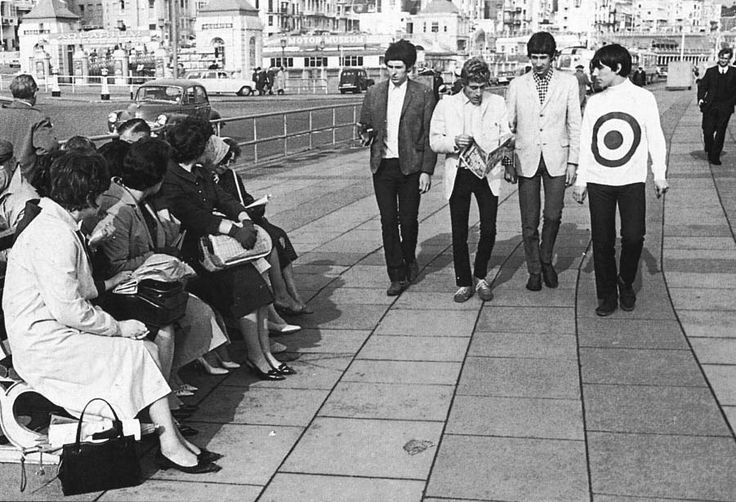 The Who get attention in Brighton