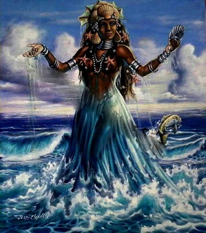 Yemanjá é a nossa mãe e de todos os orixás !