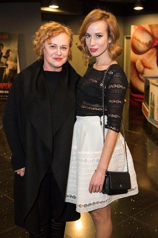 Táňa Pauhofová s maminkou Ivetou