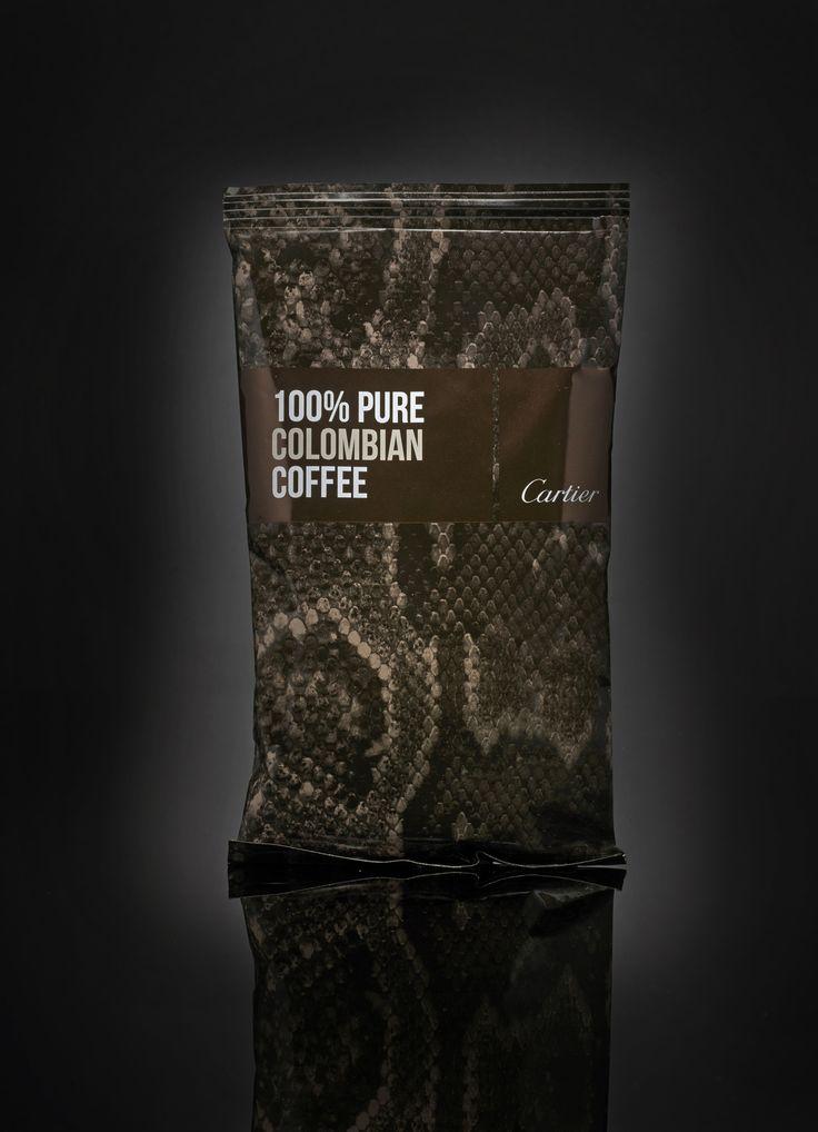 Cibi quotidiani….una confezione alla moda! http://buff.ly/1iDSkJF #luxury #lusso #PeddyMergui #caffè #cartier