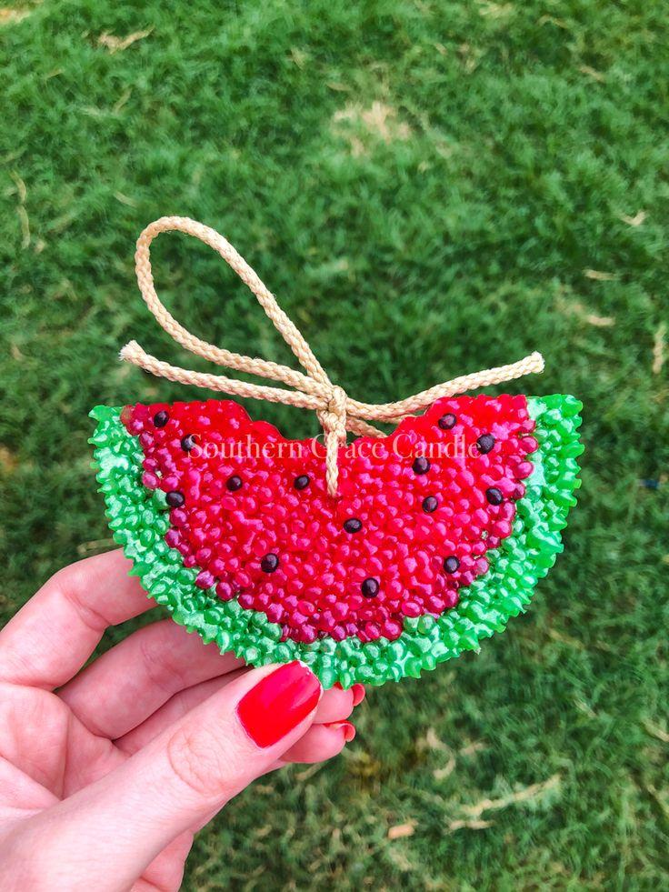 Watermelon Car Freshie in 2020 Aroma beads, Freshie, Car