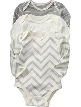 chevron onesieChevron Onesies, Neutral Onesies, Baby Boys, Babies Clothes, Baby Clothing, Gender Neutral, Old Navy, Bodysuit 3 Pack, Chevron Stripes