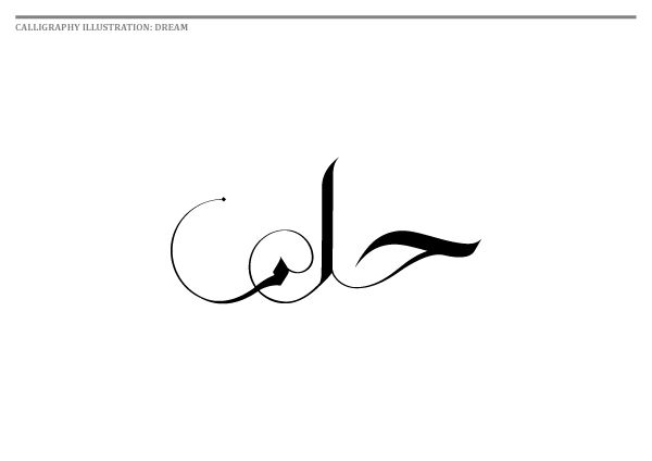 Muslim and Single Website Calligraphy [2011] by Islam Zayed, via Behance
