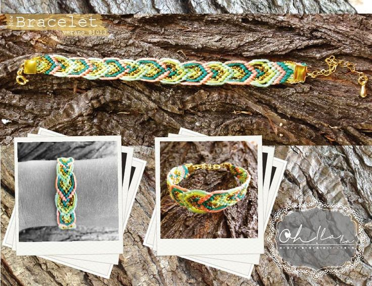 Woven bracelet!! by ♥ Oh La La ♥