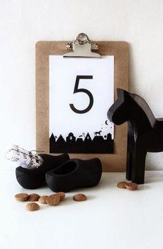 Stijlvolle Sinterklaasfeest decoratie ideeën. 11 decoratie tips voor een Stijlvol Sinterklaas feest op een rij, laat je inspireren op Stijlvol Styling.