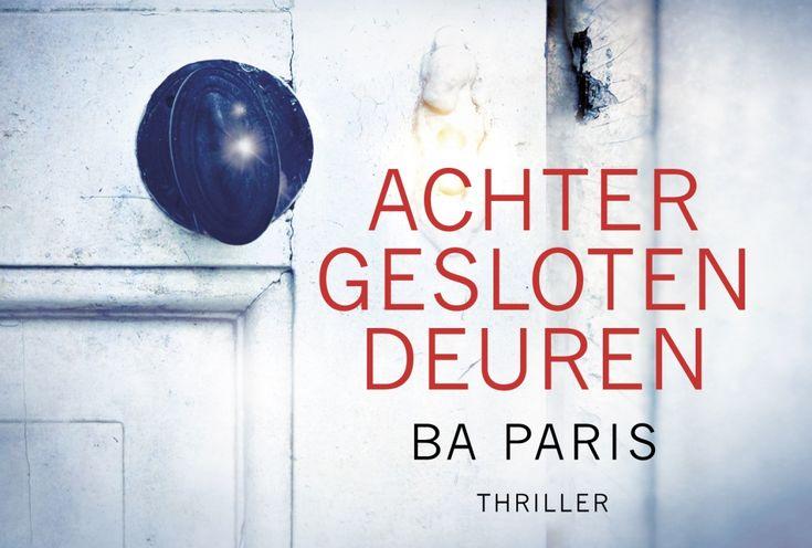 Achter gesloten deuren - B.A. Paris - Dwarsligger