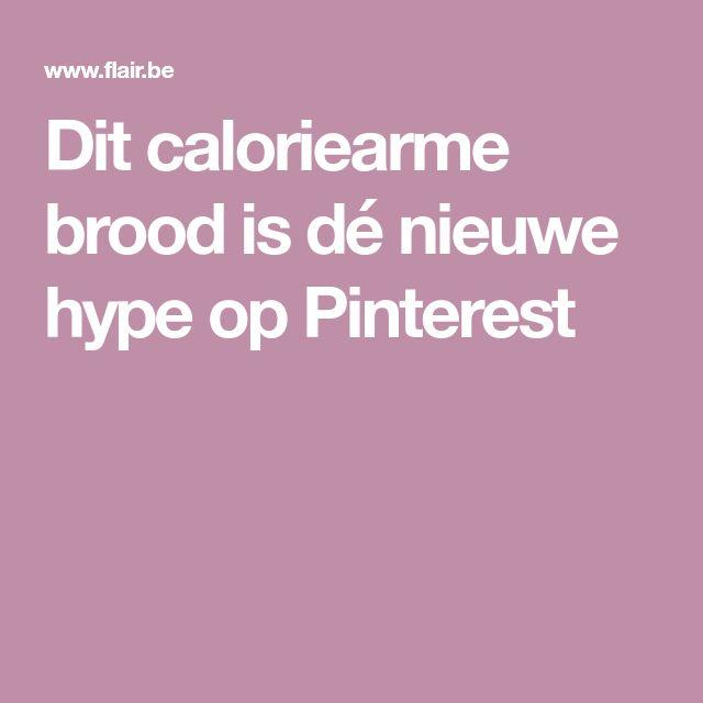 Dit caloriearme brood is dé nieuwe hype op Pinterest