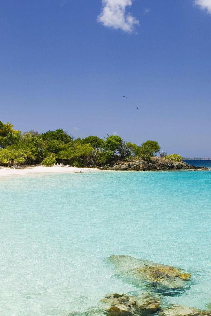 Turtle Bay Beach is one of seven white sand beaches on the 170-acre property. Caneel Bay (Saint John Island, US Virgin Islands) - Jetsetter