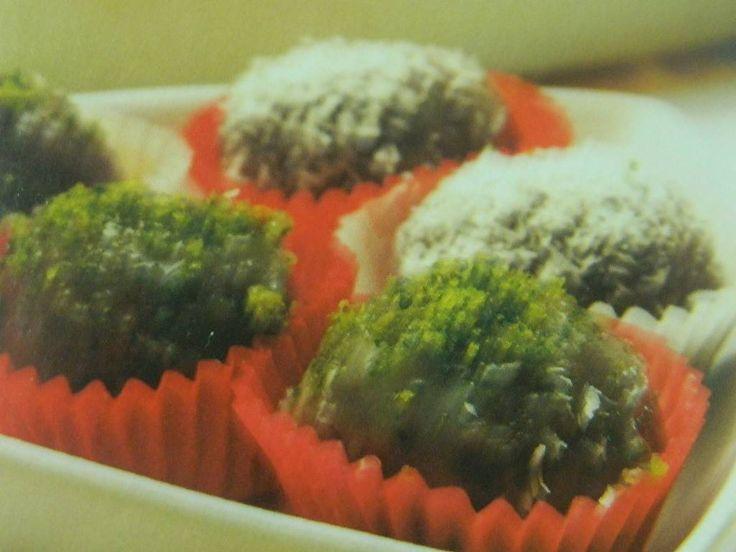 Limonlu çikolatalı Toplar, yemekgemisi.com #yemekgemisi #aperatifler #tatlı