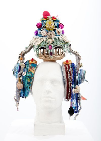 Exotic Crochet art by Karin Kempf.