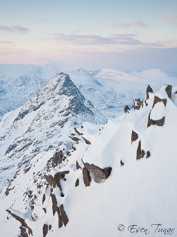 Tryfan Mountain, Ogwen Valley, Snowdonia National Park, Wales, UK