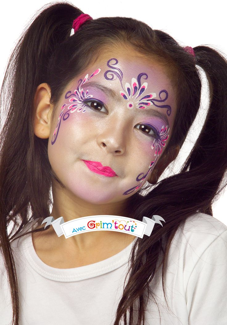1000 images about carnaval festif et cr atif on pinterest owl mask masks and cat mask - Maquillage simple enfant ...
