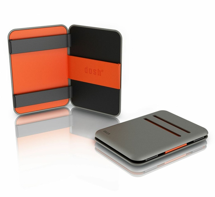Dosh Magic Wallet  -Colour: Tangerine. NZ $60 Ideal gift - fast free delivery within NZ ChoiceWallet.com   The dosh magic wallet has 4 card slots on the outside, and inside can securely hold banknotes and receipts. The dosh magic wallet is the ultimate statement in minimalism and go anywhere functionality.    4 card holder slots  Ultra compact streamlined shape  Water resistant TPU material  Super durable and hard wearing  100% recyclable material