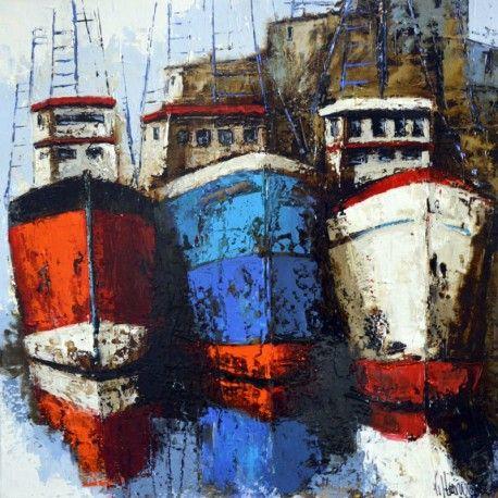 natalia villanueva peintre | Natalia Villanueva - Paintings artist - Pesqueros