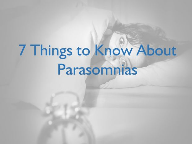 PARASOMNIA - There's More to Nightmares Than Meets the Eye