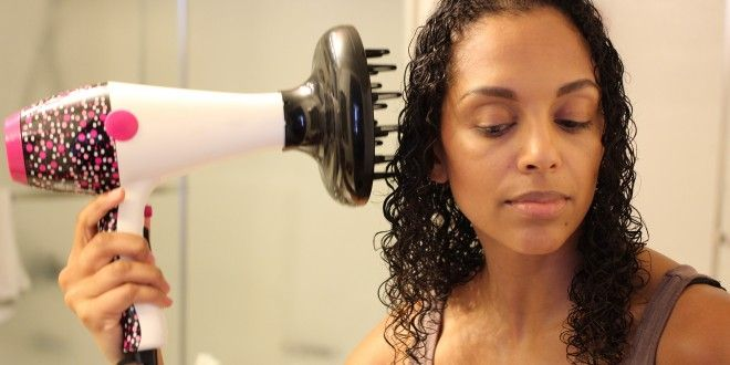 How To Diffuse Curly Hair World Of Curls Pinterest
