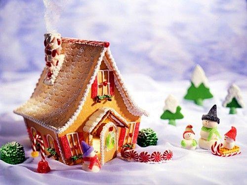 Зарубежные новогодние традиции: пряничные домики