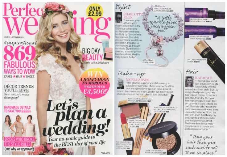 SPOTTED...again! Our #Orchid ring on the cover of September's Perfect Wedding mag! https://www.clogau.co.uk/Collections/Orchid.aspx?utm_content=bufferb483a&utm_medium=social&utm_source=pinterest.com&utm_campaign=buffer  #weddingplans