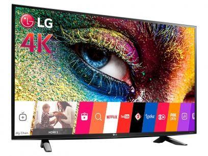 """Smart TV LED 43"""" 4K LG 43UH6100 Ultra HD - Conversor Integrado 3 HDMI 1 USB Wi-Fi com as melhores condições você encontra no Magazine Jsantos. Confira!"""