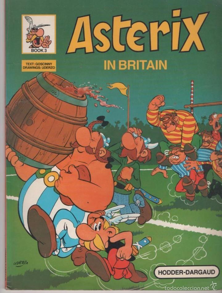 ASTERIX IN BRITAIN Nº 3 (ENGLISH - INGLÉS) BOOK 3 text: GOSCINNY Drawings: UDERZO