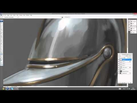 How to paint_ MEDIEVAL ARMOR_ TUTORIAL - YouTube