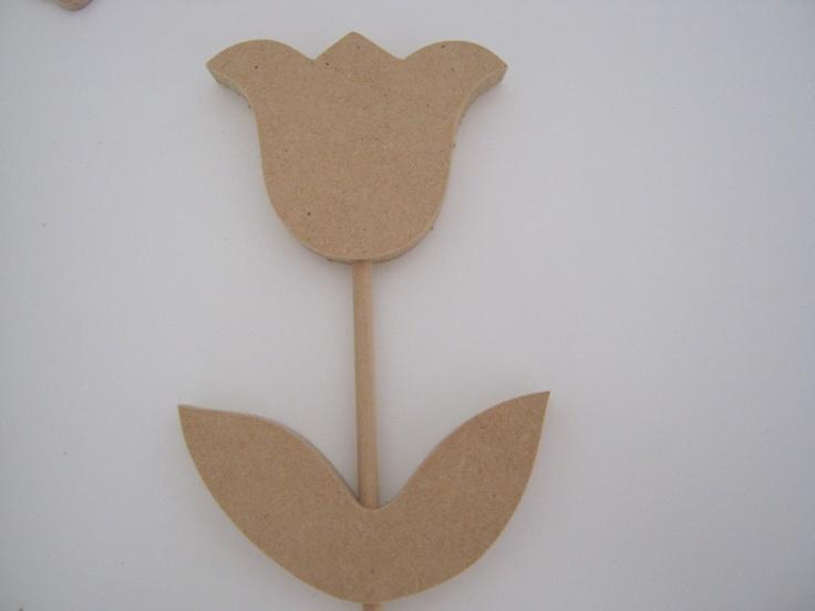 Figuras De Madera, Flores, Decoupage, Carteles,regalos,