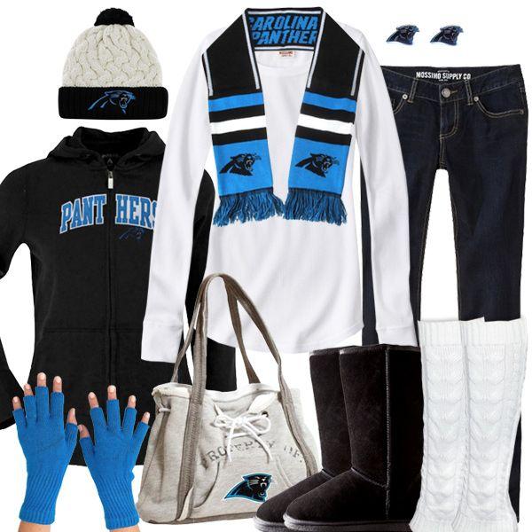 Carolina Panthers Winter Fashion