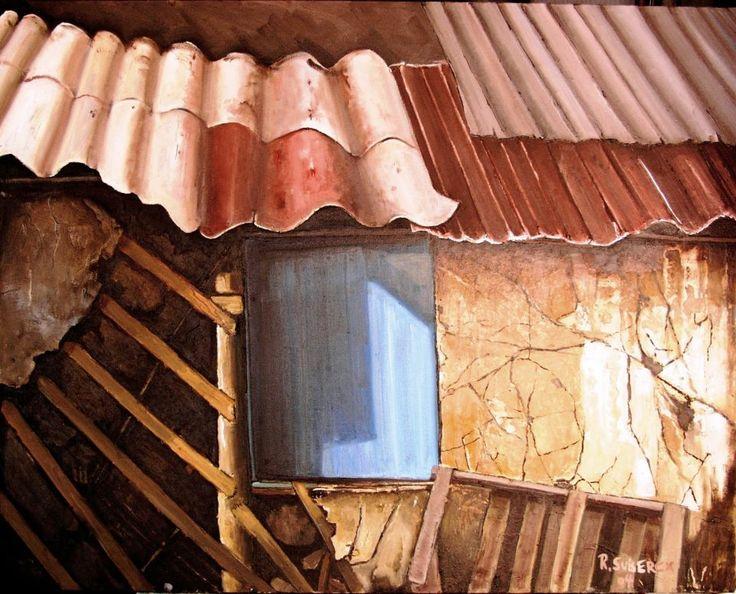 bodega en casa de campo chileno