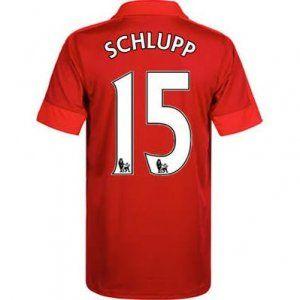 16-17 Leicester City Cheap Away Schlupp #15 Replica Football Shirt [I00300]