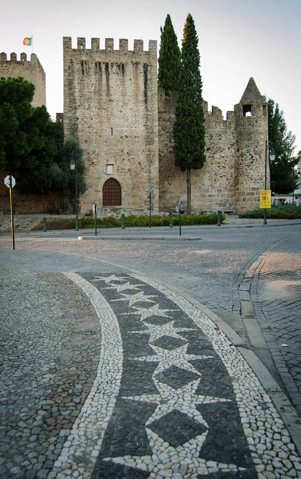 Medieval castle in Alter do Châo - Portugal
