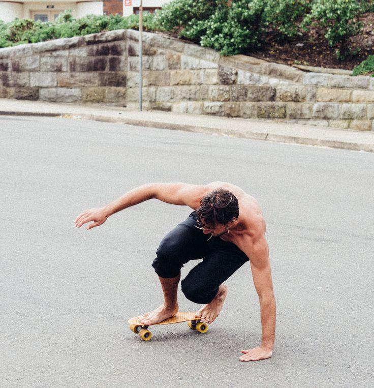 Skate Life | Campbell & Hall | Owen 3/4 Track Pants | Navy #skate #lifestyle #street #bondi #menswear #navy #mensclothing #aceconlon