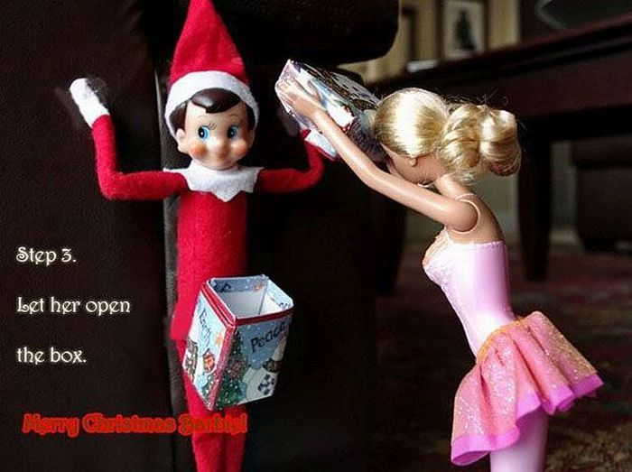 When the Elf on the Shelf and the Whore in the Drawer collide!: