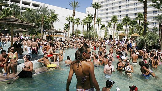 Pool Parties in Las Vegas! #crazy