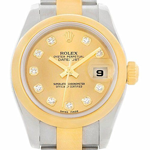 Rolex Datejust automatic-self-wind womens Watch 179163 (Certified Pre-owned) ** ...
