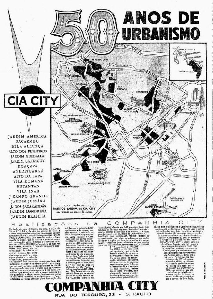 Blog do Ralph Giesbrecht: COMPANHIA CITY - UM POUCO DE HISTÓRIA http://acervo.estadao.com.br/noticias/acervo,jardim-america-da-lama-ao-luxo,7201,0.htm