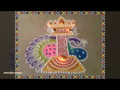 Diwali rangoli demo 1