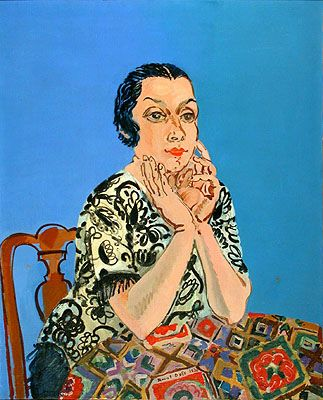 Dufy, Raoul (1877-1953) - 1930 Portrait of Mme. Raoul Dufy (Museum of Fine Arts, Nice, France)