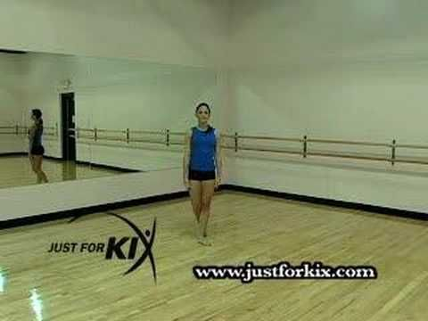 How to do a turning second position leap. By: Just For Kix