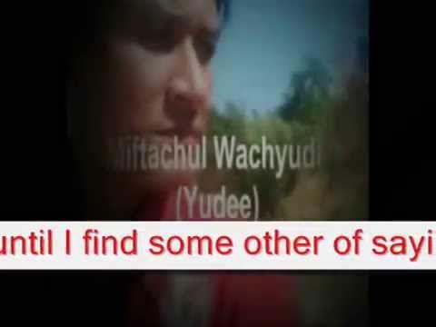 saying what I feel - Miftachul Wachyudi (Yudee)