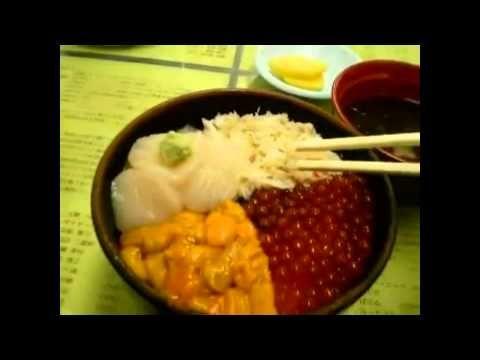 Wisata Jepang: Pasar Pagi Hakidate Makanan laut dan ... Hokkaido 53 - YouTube