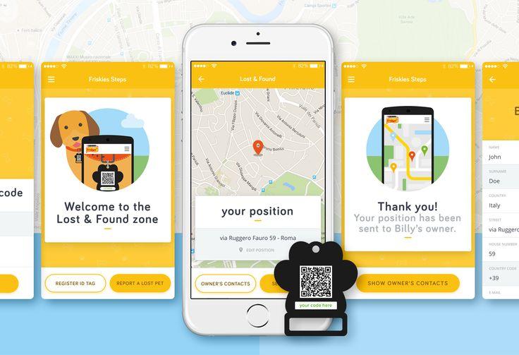 Friskies Steps - app, website, motion on Behance
